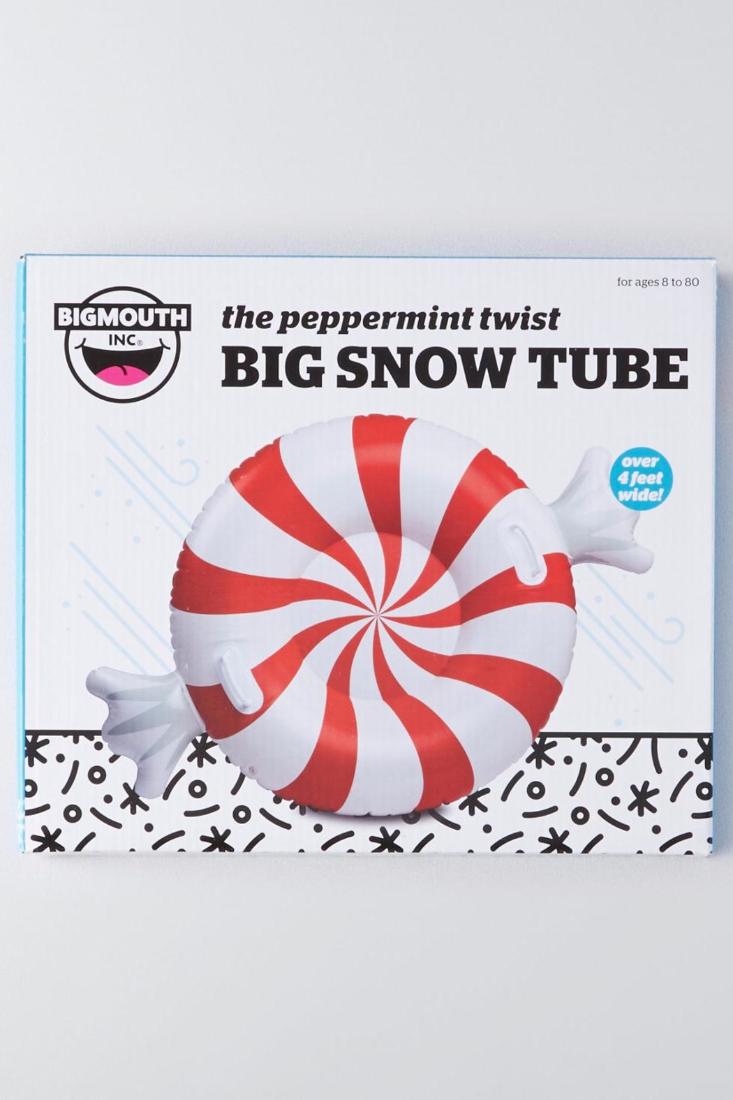BigMouth Inc Peppermint Twist Snow-Tube - Front Full Image