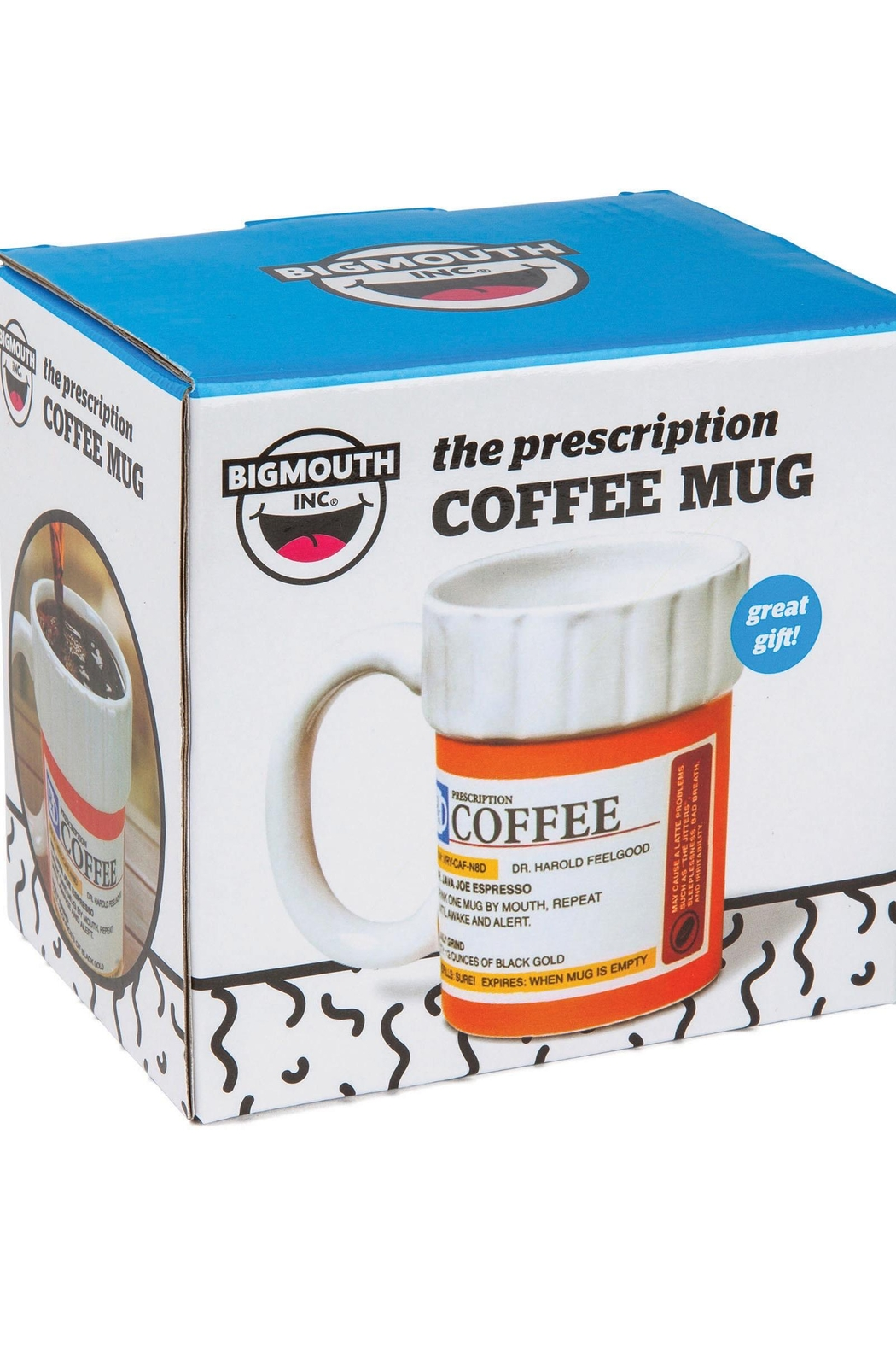 BigMouth Inc Prescription Pill Bottle Mug - Side Cropped Image