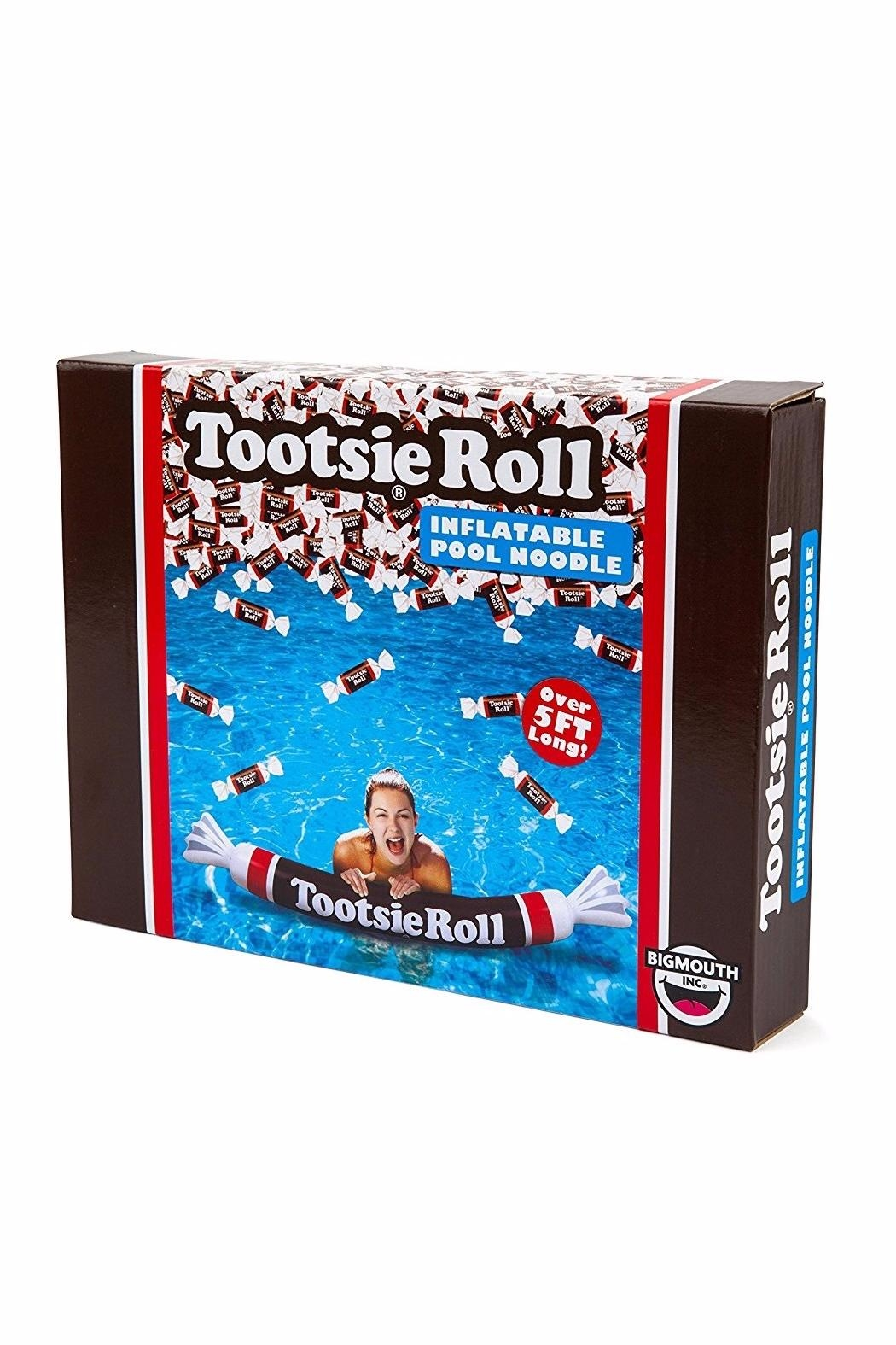 BigMouth Inc Tootsie Roll Noodle - Front Full Image