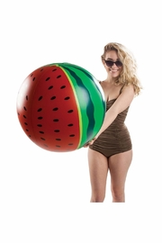 BigMouth Inc Watermelon Beach Ball - Front full body