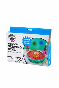 BigMouth Inc Inflatable Watermelon Serving Ring - Alternate List Image