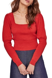 ASTR the Label Bijou Square Neck Sweater - Front cropped