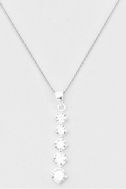 Bijoux Bubble Sterling Silver Necklace - Front cropped