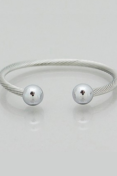 Bijoux Twisted Ball Cuff - Product List Image