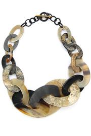 Bijoux du Monde Link-Horn Statement Necklace - Product Mini Image