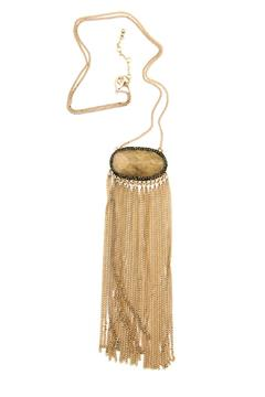 Bijoux du Monde Quartz Fringe Necklace - Product List Image