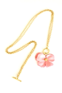Bijoux du Monde Pink Magnolia Necklace - Product List Image