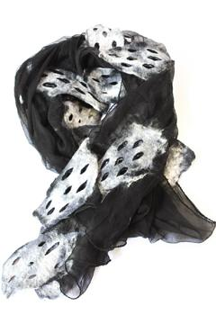 Shoptiques Product: Sheer Artsy Scarf