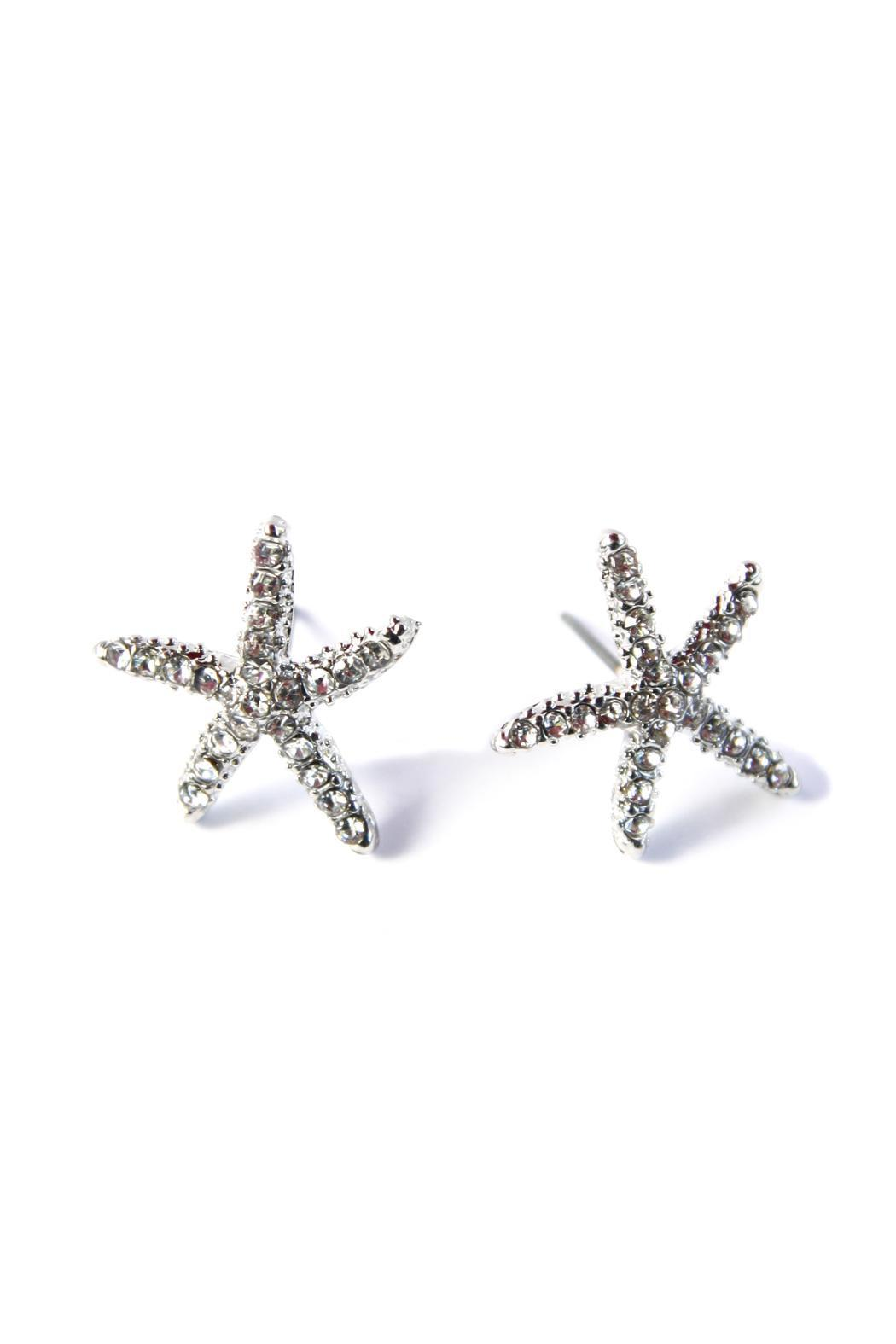 Bijoux du Monde Starfish Earrings - Front Cropped Image