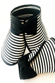 Bijoux du Monde Black Stripe Hat - Product Mini Image