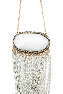 Bijoux du Monde White-Quartz Fringe Necklace - Alternate List Image