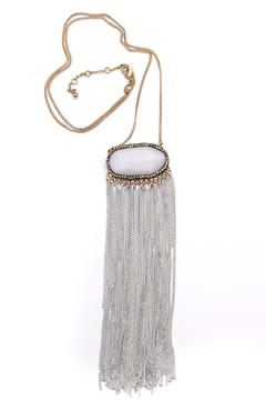 Bijoux du Monde White-Quartz Fringe Necklace - Product List Image