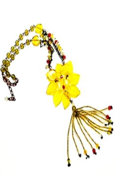 Bijoux du Monde Yellow Flower Necklace - Alternate List Image