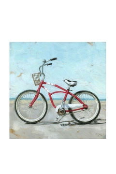 Sullivans Bike Canvas Print - Alternate List Image
