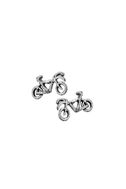 Tiger Mountain Bike Stud Earrings - Product Mini Image