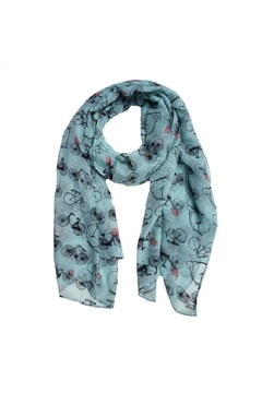 Shoptiques Product: Bikes Mint Scarf