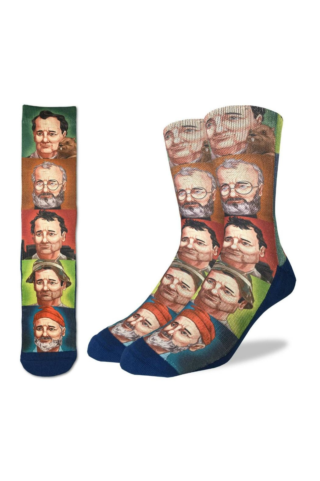 Good Luck Sock Bill Murray Sock - Front Cropped Image