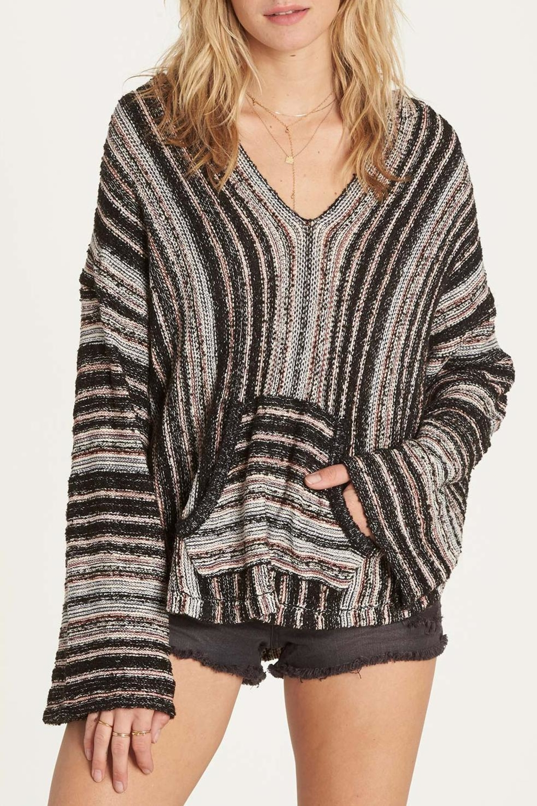 Billabong Baja Beach Sweater - Front Cropped Image