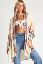 Billabong Beautiful Printed Kimono - Front full body