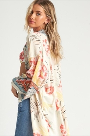 Billabong Beautiful Printed Kimono - Side cropped