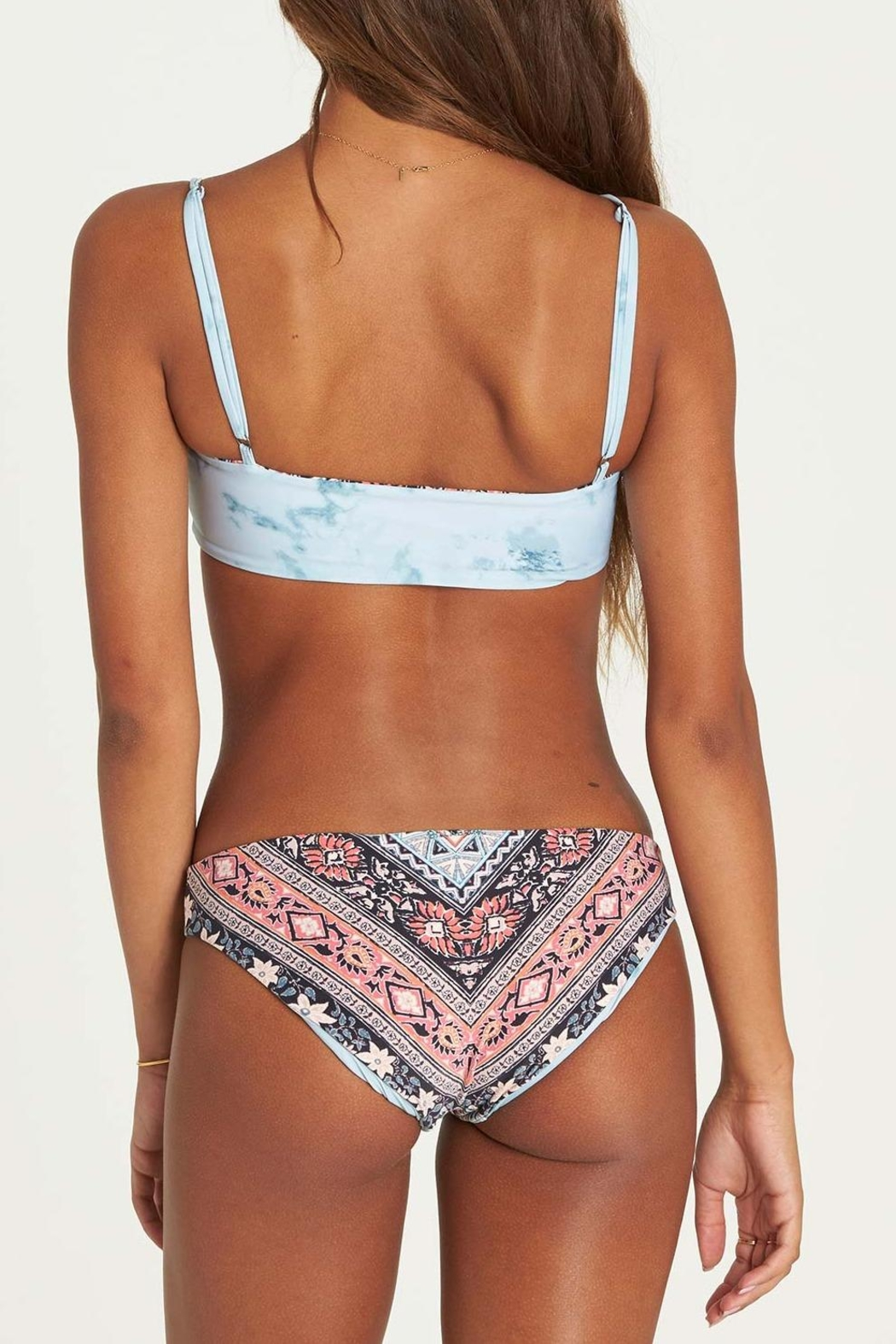 Billabong Blissed-Out Tank Bikini-Top - Back Cropped Image