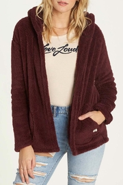 Billabong Butter Fur Fleece Jacket - Product Mini Image