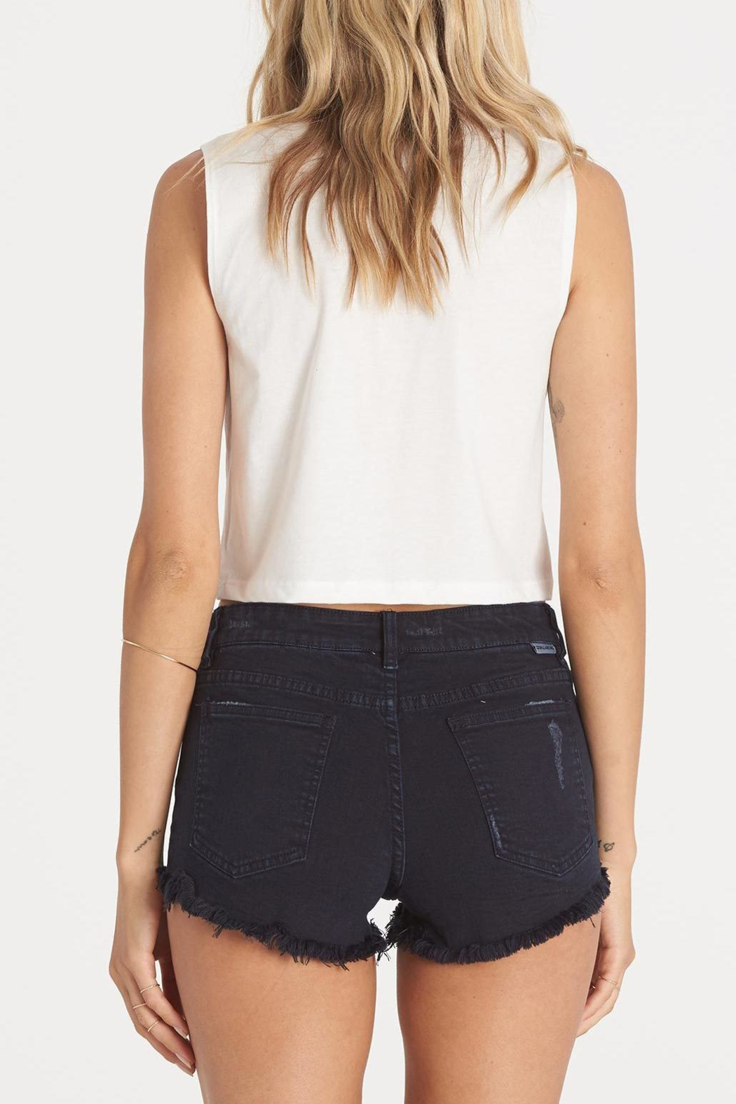Billabong Buttoned Up Shorts - Side Cropped Image