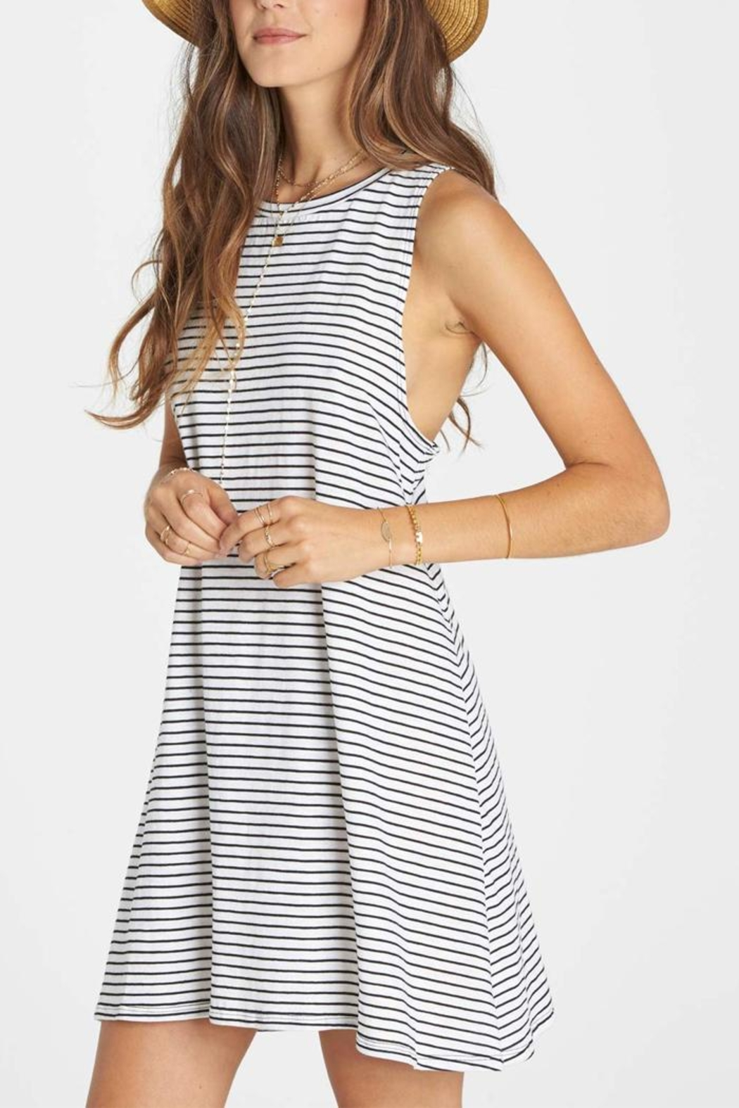 Billabong By And By Tunic Dress - Side Cropped Image