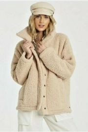 Billabong Cozy Days Sherpa Jacket - Front cropped
