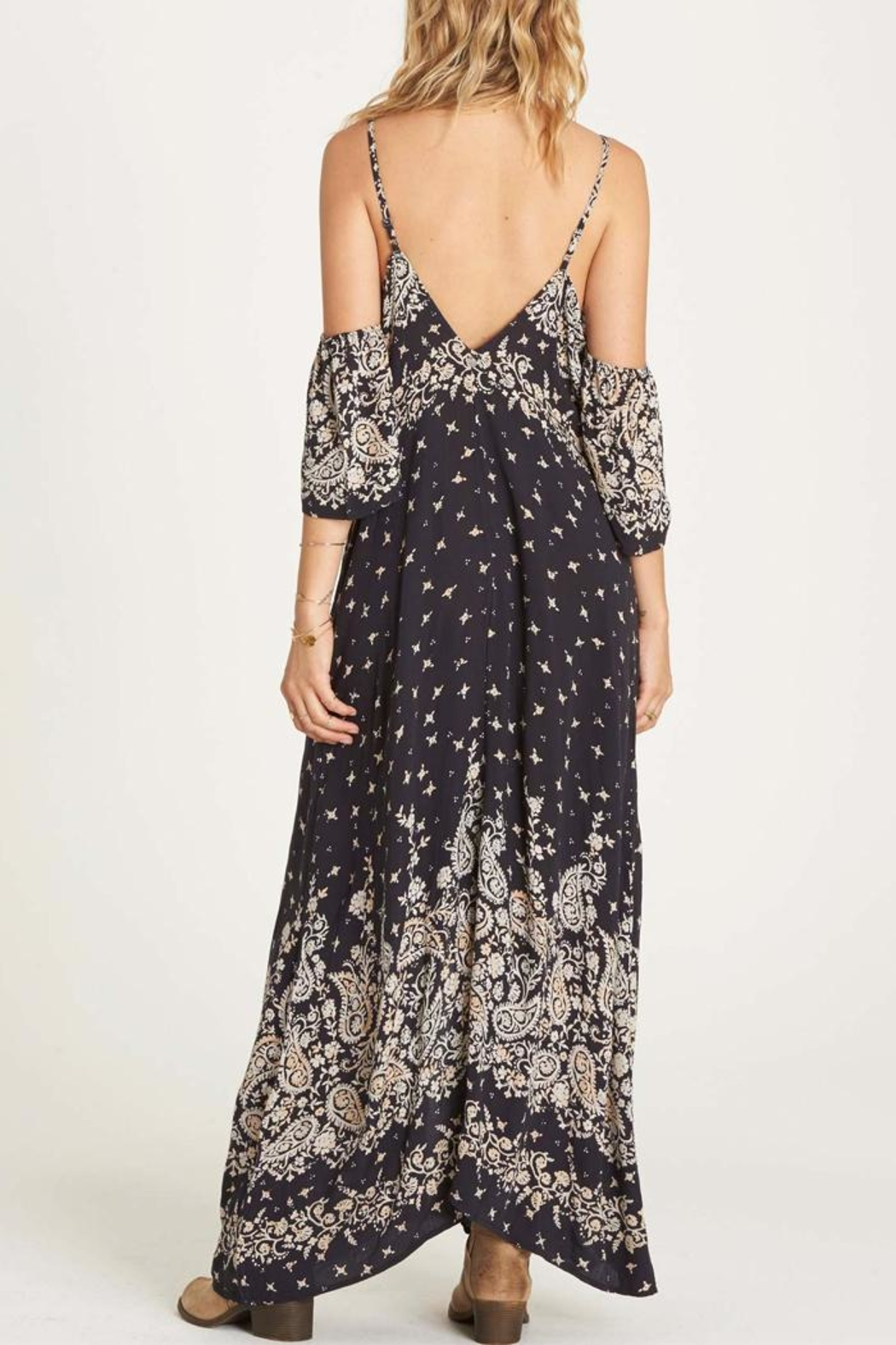 Billabong Desert Dreams Maxi Dress - Front Full Image