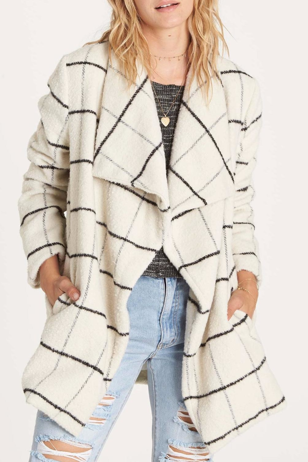 Billabong Evermore Coat - Front Cropped Image
