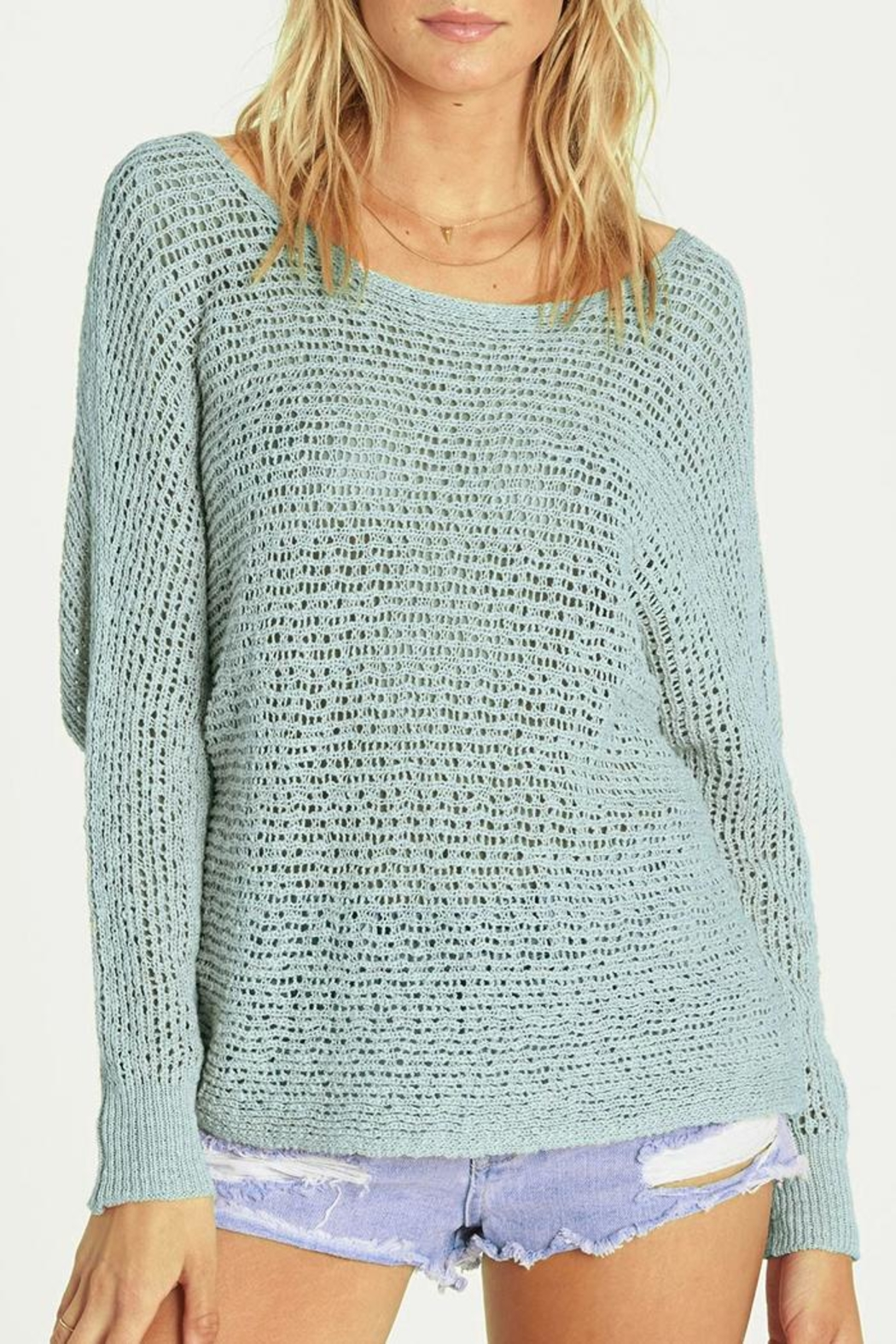 Billabong Everyday Cozy Sweater - Front Cropped Image