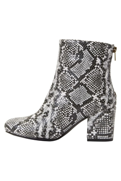 Shoptiques Product: Faux Snake-Skin Boots
