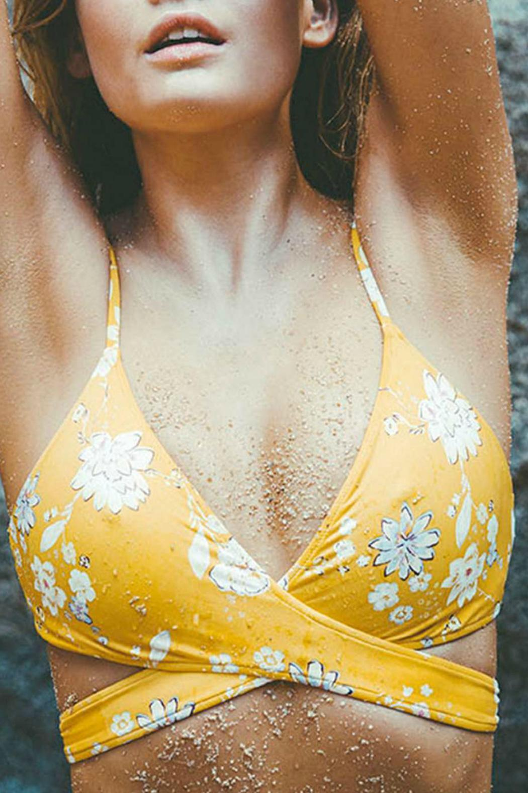Billabong yellow bikinis