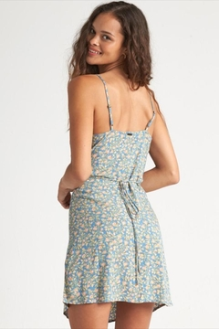 Billabong Floral Button-Up Dress - Alternate List Image
