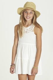 Billabong Girls Salty Side Dress - Product Mini Image