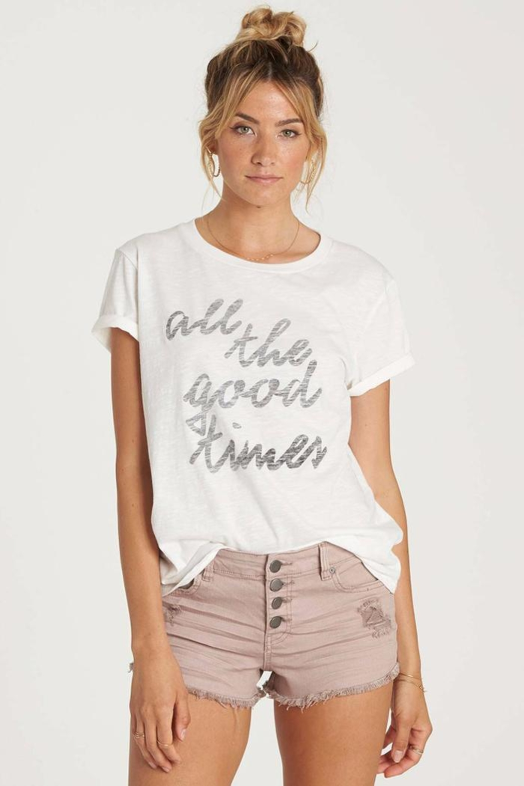 Billabong Good Times Tee - Front Cropped Image