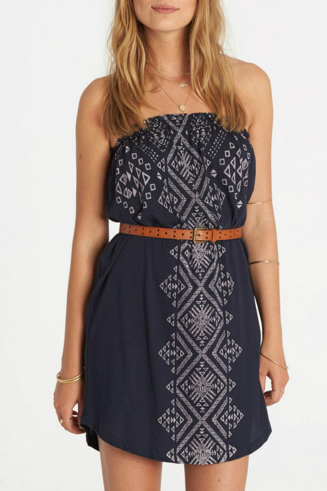 Billabong Here It Is Dress - Front Cropped Image