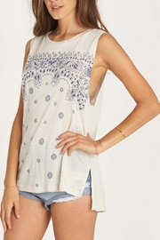 Billabong Indigo Bandana Tank Top - Front full body