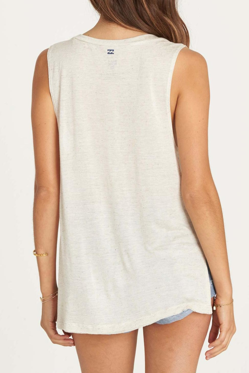 Billabong Indigo Bandana Tank Top - Side Cropped Image
