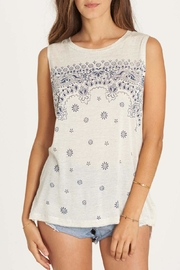 Billabong Indigo Bandana Tank Top - Front cropped
