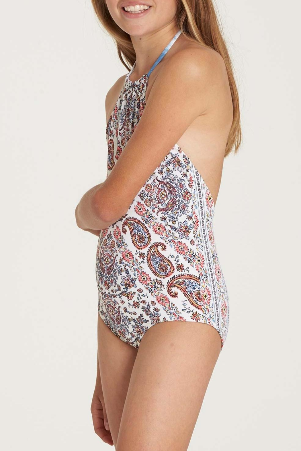 Billabong Lil-Bliss One-Piece Swimsuit - Front Full Image