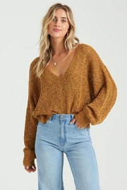 Billabong Open Knit Sweater - Front cropped