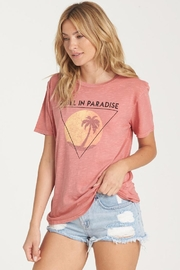 Billabong Paradise Palm Tee - Front cropped