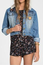 Billabong Patched Love Jacket - Product Mini Image