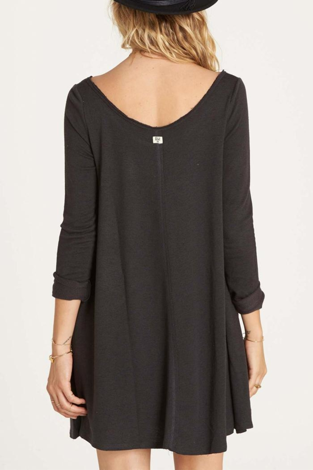 Billabong Relaxed Terry Dress - Front Full Image