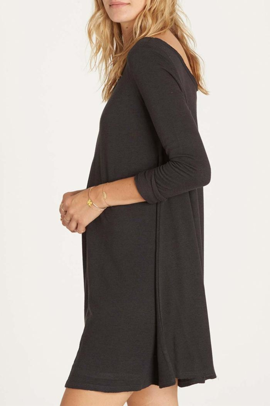 Billabong Relaxed Terry Dress - Side Cropped Image