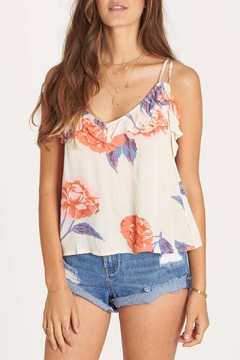 Shoptiques Product: Ruffle Feather Tank Top