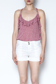 Billabong Ruffle Polka Dot Cami - Product Mini Image