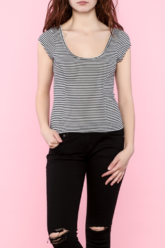 Shoptiques Product: Same Song Stripe Top